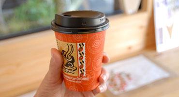 大和屋のカップコーヒー