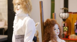 峯岸俊子人形教室展