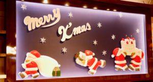 クリスマス店内