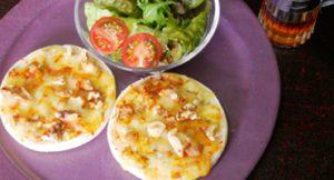 クミンと胡桃のチーズトースト