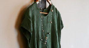 春の衣とアクセサリー KUNUGI 小川 由起子 ・緑川裕子