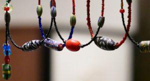 染布&古代トンボ玉ローマングラス展 アトリエ「もの」